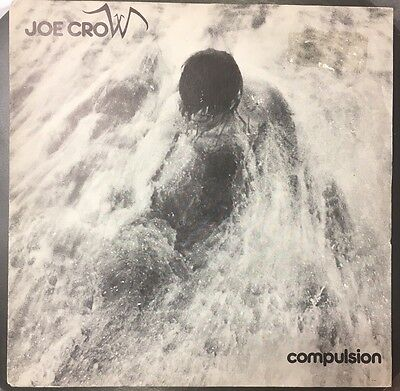 """Joe Crow -  Compulsion - New Wave / Indie 7"""" In Pic Sleeve. Cherry Red"""