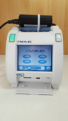 InfoV.A.C. VAC KCI therapy module negative pressure wound therapy gel canister