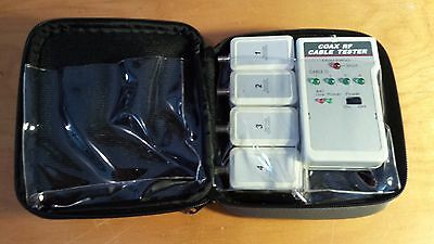 NULINE Data Comm Tester 250221/CT4 (Coax/RF Cable Tester)