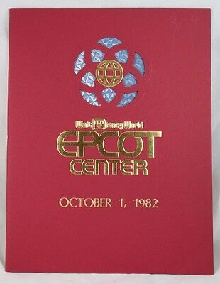 Vintage Disney Epcot Center 1982 Opening Day Book - Great Pictures & Info, MINT!