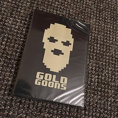 Gold Goons Skateboard DVD Gold Wheels Skateboarding Brand New