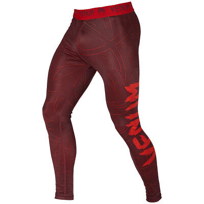 Venum Nightcrawler Dry Tech MMA Compression Spats - Red