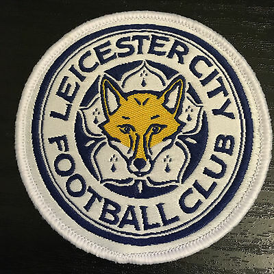 Leicester City Footbal Club Crest Sew on Badge Transfer Emroidered Patch LCFC