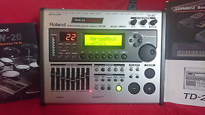 ★ ROLAND TD-20 expanded V Drum ★ mit 1000 sounds , top Zustand ★