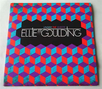 """Ellie Goulding - Under The Sheets 7"""" 2009 NEON GOLD *Rare* MINT condition"""