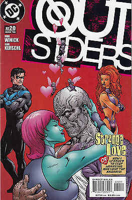 DC Comics Outsiders (Volume 3) #20-25, 27-29, Very Fine to Near Mint!
