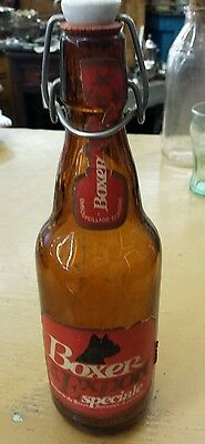 Vintage Boxer Export Speciale Beer Bottle. Add this to your collection.