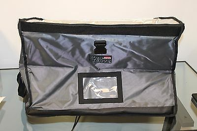 Rubbermaid FG9F1200CGRAY PROSERVE Insulated End-Load Full Pan Carrier Catering
