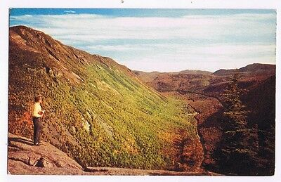 View From Mt. Willard - Crawford State Park New Hampshire Postcard # K-112