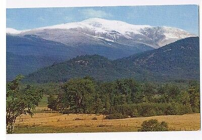 Mt. Washington From Intervale, White Mtns. New Hampshire - Postcard # C12875