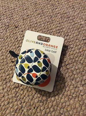 Orla Kiely Blue Green Bicycle Bell Brand New With Tags Bike