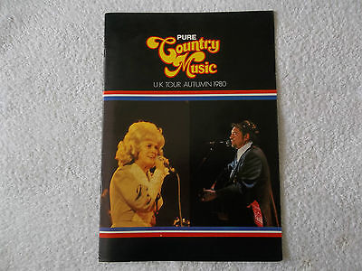PURE COUNTRY MUSIC PROGRAMME - UK Tour 1980, Boxcar Willie,Jean Shepard,Colorado