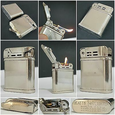 Briquet essence / BEATTIE JET PIPE LIGHTER / petrol lighter feuerzeug accendino