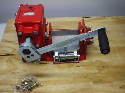 New Dayton 2000 LB. 32:1 Worm Gear Hand Winch With Brake FAST SHIPPING
