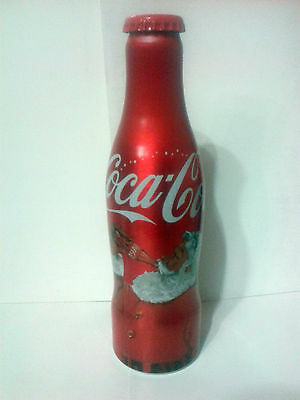 LIMITED Aluminium EMPTY Coca Cola bottle Christmas 2016 Edition 250 ml (Croatia)