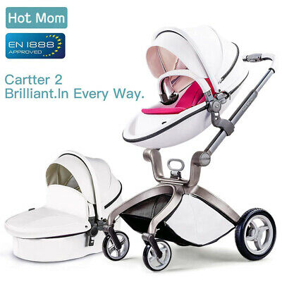 Hot Mom Pushchair 2016, 3 In 1 Baby Stroller Travel System With Bassinet