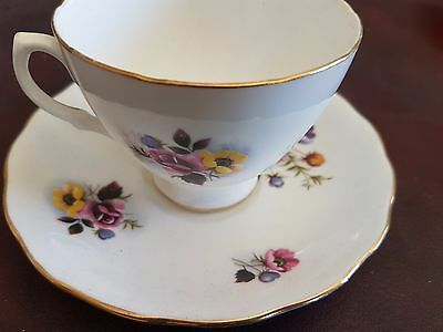 Cup & Saucer (Royal Vale China)