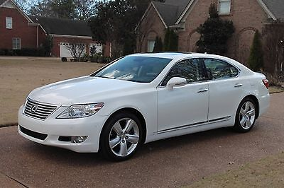 2012 Lexus LS 460 One Owner Perfect Carfax Mark Levinson Sound New Michelin Tires MSRP New $75416