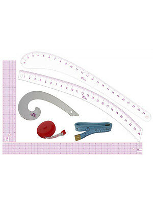 Fashion Design Tool Kit for Dress Form Pattern Making