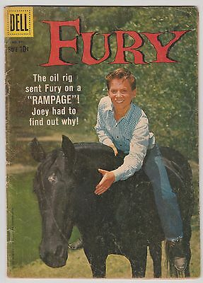 Fury Dell TV Horse Western Comic Four Color 975 March 1959 photo cover
