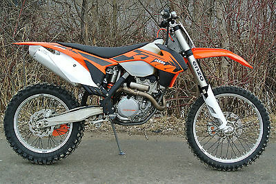 2013 KTM 350 XC-F Cross Country Enduro  KTM 350 XC-F Four Stroke  XCF  Low Hours  One Owner   $349 Nationwide Shipping