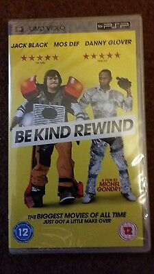 Sony PSP DVD / Movie / Film - Be Kind Rewind * New and Sealed*