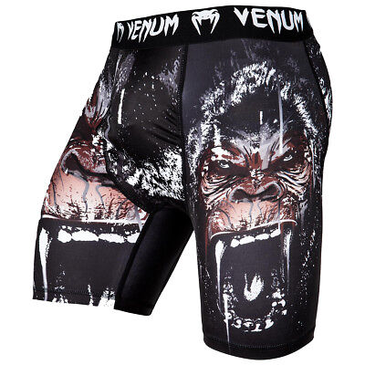 Venum Gorilla 4-Way Stretch Compression Vale Tudo Shorts - Black