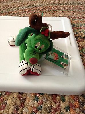 K-9  Reindeer bean bag Christmas   Marvin Martian Looney Tunes new with tags