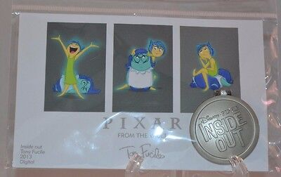 Inside / Out Disney 2016 Disney World Pixar Party From The Vault Pin! LE7500!