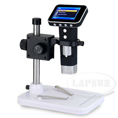 "500X HD USB Portable Digital Mobile MicroScope Camera + 2.5"" LCD Screen + Stand"