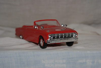 1963 Ford Falcon Futura Convertible 1/24 scale, build plastic kit by ANTfrom USA