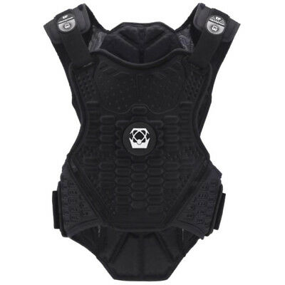 Atlas Guardian Lite Offroad Body Armour Vest - Blackout MX Motocross Trail Endur