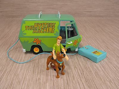 The Mystery Machine Green Remote Control Car Scooby-Doo Van RC w/ Figures Shaggy