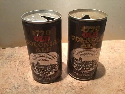 Courage. 1770. Old. Colonial. Ale. X 2. Different.  Canning  Symbles