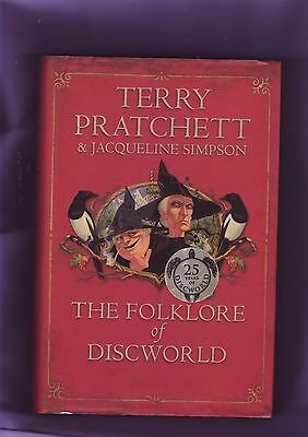 The Folklore of Discworld by Terry Pratchett  Hardback 1st edition