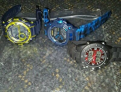 3 watches in a lot