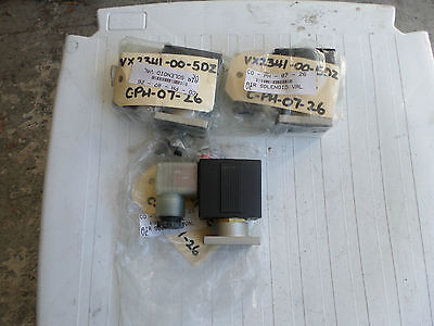 SMC PNUEMATICS - Lot of 3 Valves  VX-2341-00-5FZ -- 24DC -- BRAND NEW
