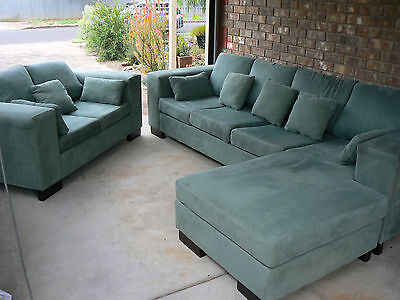 Lounge Suite - 2 Seater  +  4 Seater with Chaise