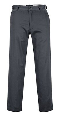 Portwest 2886 Industrial Work Pants 34T Charcoal