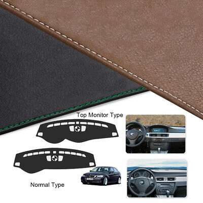 Custom Made Leather Edition Dashboard Cover For BMW E90 3Series 2006 2011