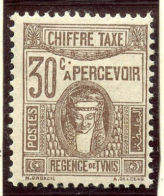 Stamp / Timbre Colonies Francaises Tunisie Taxe Neuf N° 42 *
