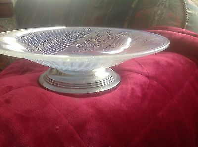 """Etling Art Deco 1932 Opalescent 14""""diameter Bowl Signed And Numbered No Chips"""