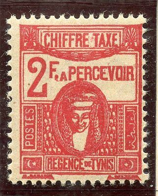 Stamp / Timbre Colonies Francaises Tunisie Taxe Neuf N° 61 **