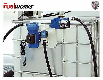 Fuelworks 120V 8GPM DEF Transfer Pump Kit Chemical Fluid Electic Dispensing