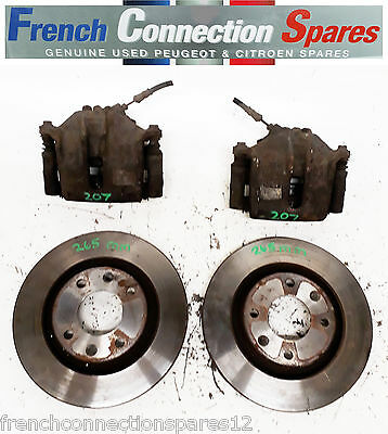 PEUGEOT 207, 307, CITROEN PICASSO BOSCH 54 BRAKE CALIPERS WITH 265mm DISCS