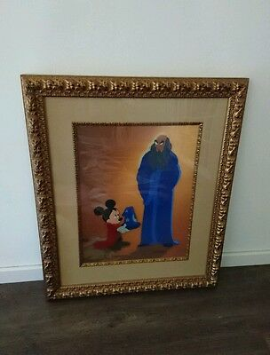 DISNEY CEL Fantasia 2000 Limited Edition Hand Painted Signed By Joe Grant