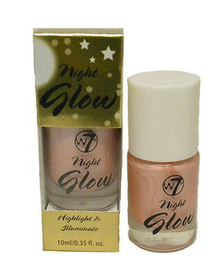 W7 Night Glow Liquid Highlighter & Illuminator 10ml