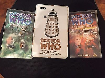 Collectors Item Limited Edition Dr Who And The Daleks On Vhs