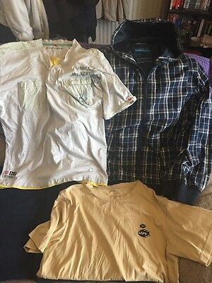 Mens Clothes Bundle -Size Large - 3 Items - 1 Hooded Jacket / 2 Tops Inc Airwalk