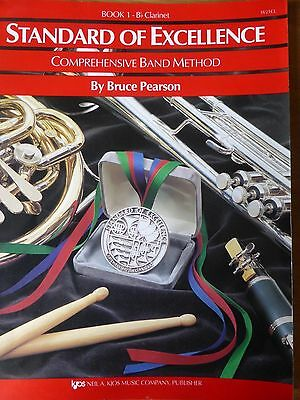 Standard of Excellence Book 1 B flat clarinet Comprehensive Band Method Pearson